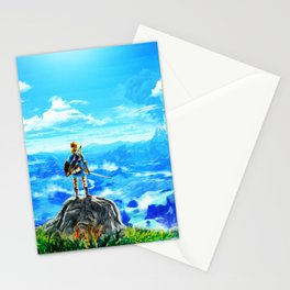 triforce  link Stationery Cards