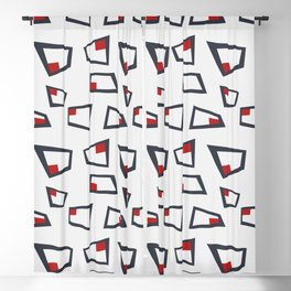 Vintage Abstract Pattern 3 Blackout Curtain