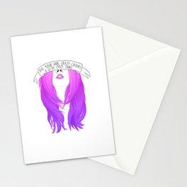 Bubblegum Purple Stationery Cards