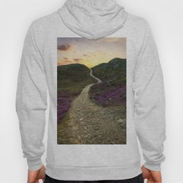 Sunset at Skye Island Hoody