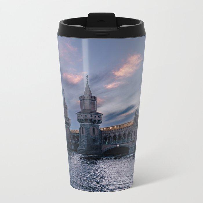 Oberbaumbrücke Metal Travel Mug