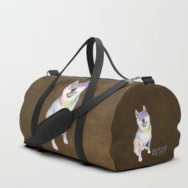 Shiba Inu Duffle Bag