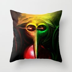 Sachiel the Risen. 3rd Angel of Evangelion Digital Painting Throw Pillow