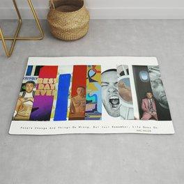 Mac Miller Album History Poster, Hypebeast Poster, Hip Hop Poster, Urban Wall Art, Music Posters Rug
