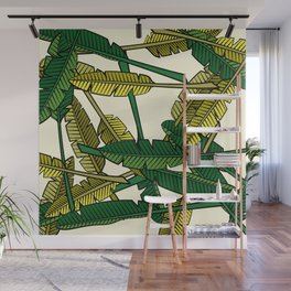 Botany: Banana Leaves Wall Mural