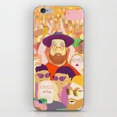 Summer festival iPhone & iPod Skin