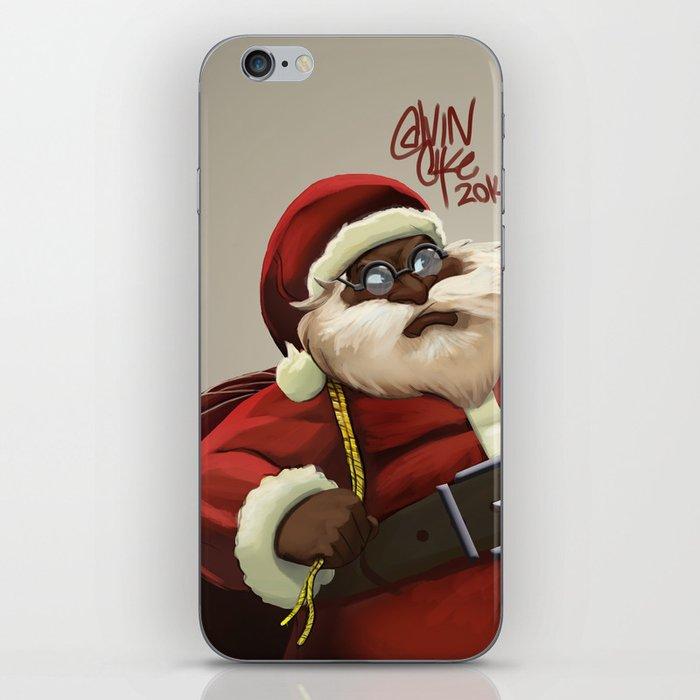 Chocolate Santa iPhone Skin