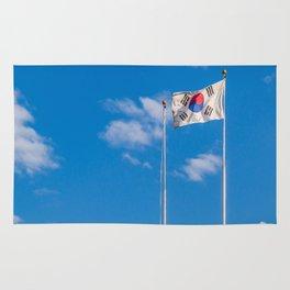 Taegukgi in the Wind Rug
