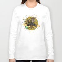 insect Long Sleeve T-shirts featuring Insect Universe by dogooder