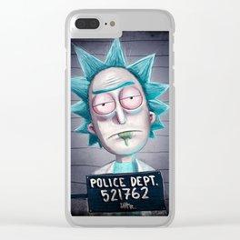 Free Rick Sanchez Clear iPhone Case