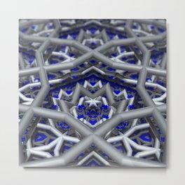 Levels and Vibrations Metal Print