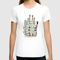 barcelona T-shirts featuring Barcelona by Jaume Tenes