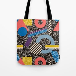 Memphis Inspired Pattern 4 Tote Bag