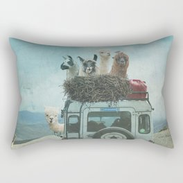 ALPACA WANDERLUST II SUMMER EDITION Rectangular Pillow