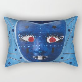 3 Visions Art Moon God Rectangular Pillow