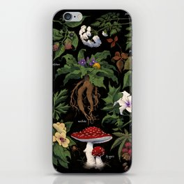 Poison Plants iPhone Skin