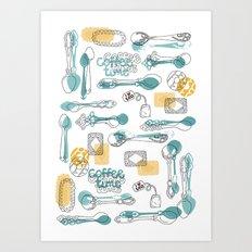 Teaspoon Art Print