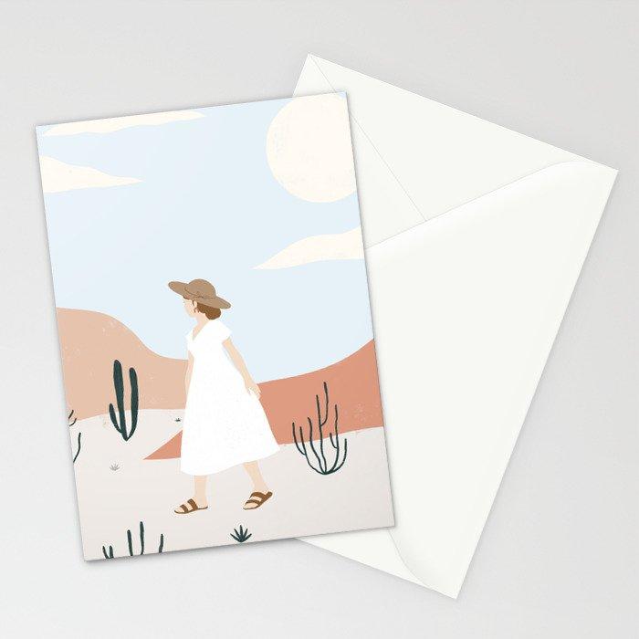 desert wandering Stationery Cards