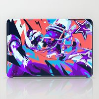 nfl iPad Cases featuring DEZ BRYANT // NFL GRIDIRON ILLUSTRATION by mergedvisible