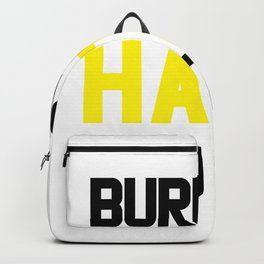 I Hate You Too Funny Gym Mens Womens Backpack