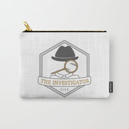 Enneagram Type 5 The Investigator Observer Carry-All Pouch