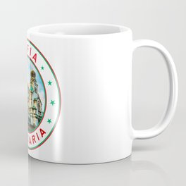 Sofia, Bulgaria, Alexander Nevsky Cathedral, circle, white Coffee Mug
