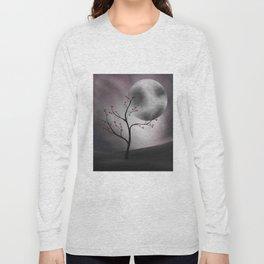 Midnight Peach Long Sleeve T-shirt