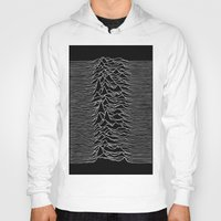 joy division Hoodies featuring Joy Division 2 by NoHo