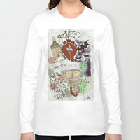 fear and loathing Long Sleeve T-shirts featuring Fear and Loathing Print by Just Bailey Designs .com