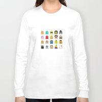 pac man Long Sleeve T-shirts featuring pac man by sEndro