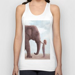 One Amazing Elephant Unisex Tank Top
