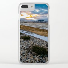 November Sunset Clear iPhone Case
