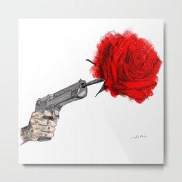 Love is in bloom Metal Print