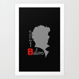 Sherlock - 221B: Believe Art Print