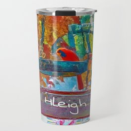 Cardinal and Finch Travel Mug