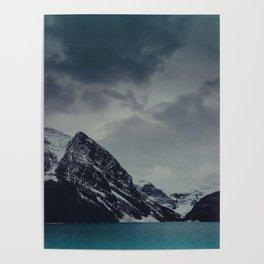Lake Louise Winter Landscape Poster