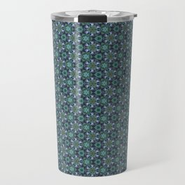 Grey Jay Spruce Tree patterned Travel Mug