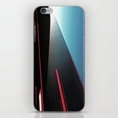 Lights Cutting Through the Sky iPhone & iPod Skin