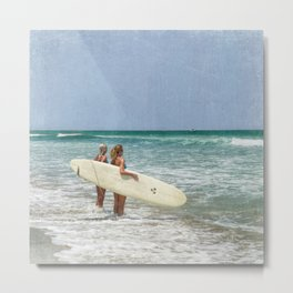 The Girls of Summer Metal Print