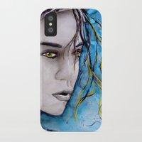 ale giorgini iPhone & iPod Cases featuring Ale by Alux Medina