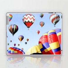 Balloons In The Sky - Painting Style Laptop & iPad Skin