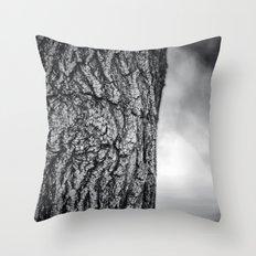 Natures eye Throw Pillow