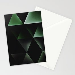 dyrk gryyn cyrnyrs Stationery Cards
