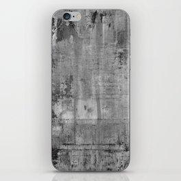 GREY MODERN INDUSTRIAL RUSTIC iPhone Skin