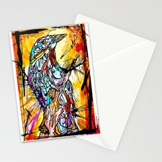 The Beautiful Bird Is The One Who Gets Caged Stationery Cards