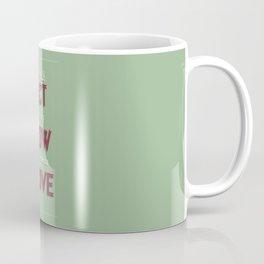 Motivational, inspiring Quote, ACT - SHOW - PROVE, inspiration, motivational Coffee Mug