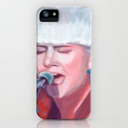 Portrait of Robyn iPhone Case