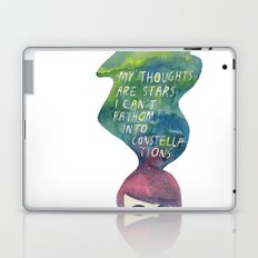 Thoughts Are Constellations Laptop & iPad Skin