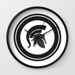 Fight, work out, Helmet Wall Clock
