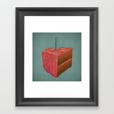 Happy Birthday (Pink)  Framed Art Print